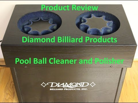 Unboxing and Review - Diamond Billiard Products Pool Ball Cleaner & Polisher