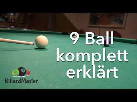 9 Ball - komplett gelocht - MIT Erklärung & Analyse Pool Billard Training   BillardMaster